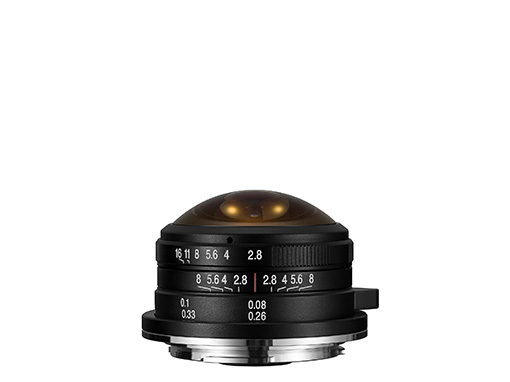 4mm f/2,8 Fisheye
