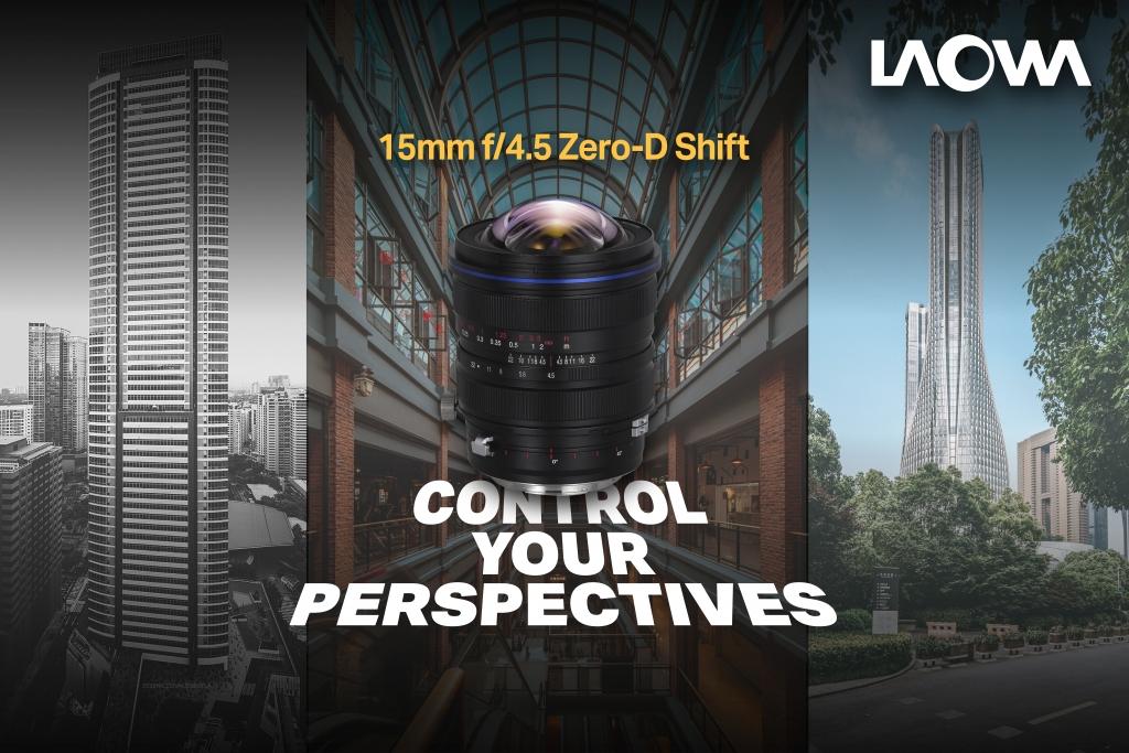 Laowa 15mm f/4,5 Zero-D Shift